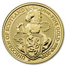 2018 Great Britain 1/4 oz Gold Queen's Beasts The Unicorn