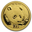2018 China 1 gram Gold Panda BU (Sealed)