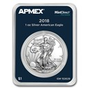 2018 1 oz Silver American Eagle (MintDirect® Premier Single)