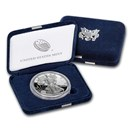 2018-W 1 oz Proof Silver American Eagle (w/Box & COA)