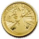 2017 Great Britain 1/40 oz Proof Gold Britannia