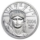 2004 1/4 oz Platinum American Eagle BU