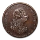 1805 Great Britain Twopence P-1313 Bronzed Restrike PF-64 BN NGC