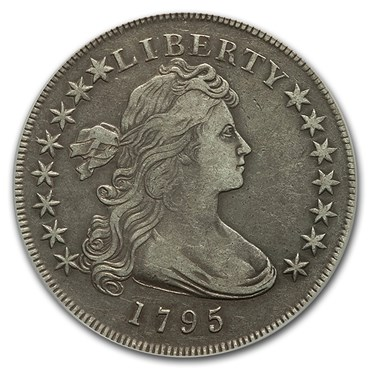 The Bust Dollar (1794-1804) obverse
