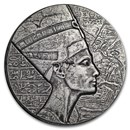 2017 Republic of Chad 5 oz Silver Queen Nefertiti