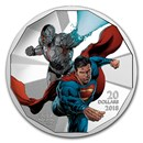 2018 Canada 1 oz Ag $20 The Justice League™: Cyborg and Superman