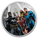 2018 CAN 2 oz Ag $30 Justice League™ World's Greatest Superheroes