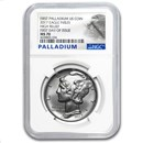 2017 1 oz Palladium American Eagle MS-70 NGC (First Day)