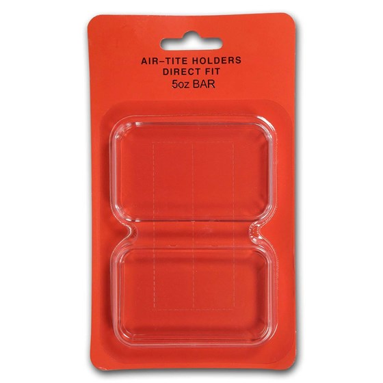 Air-Tite Holder Direct Fit - 5 oz Silver Bar