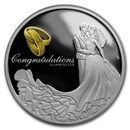 2018 Australia 1 oz Silver Wedding Proof