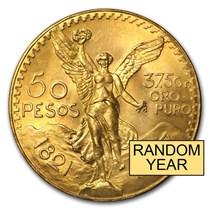 50 Pesos Gold Centenario Mexican
