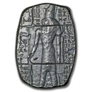 3 oz Hand Poured Silver Relic Bar - Horus
