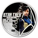 2018 Tuvalu Silver 2-Coin Star Trek U.S.S. Discovery NCC-1301 Set