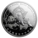 2018 China 1 oz Silver Panda Proof (Berlin World Money Fair)