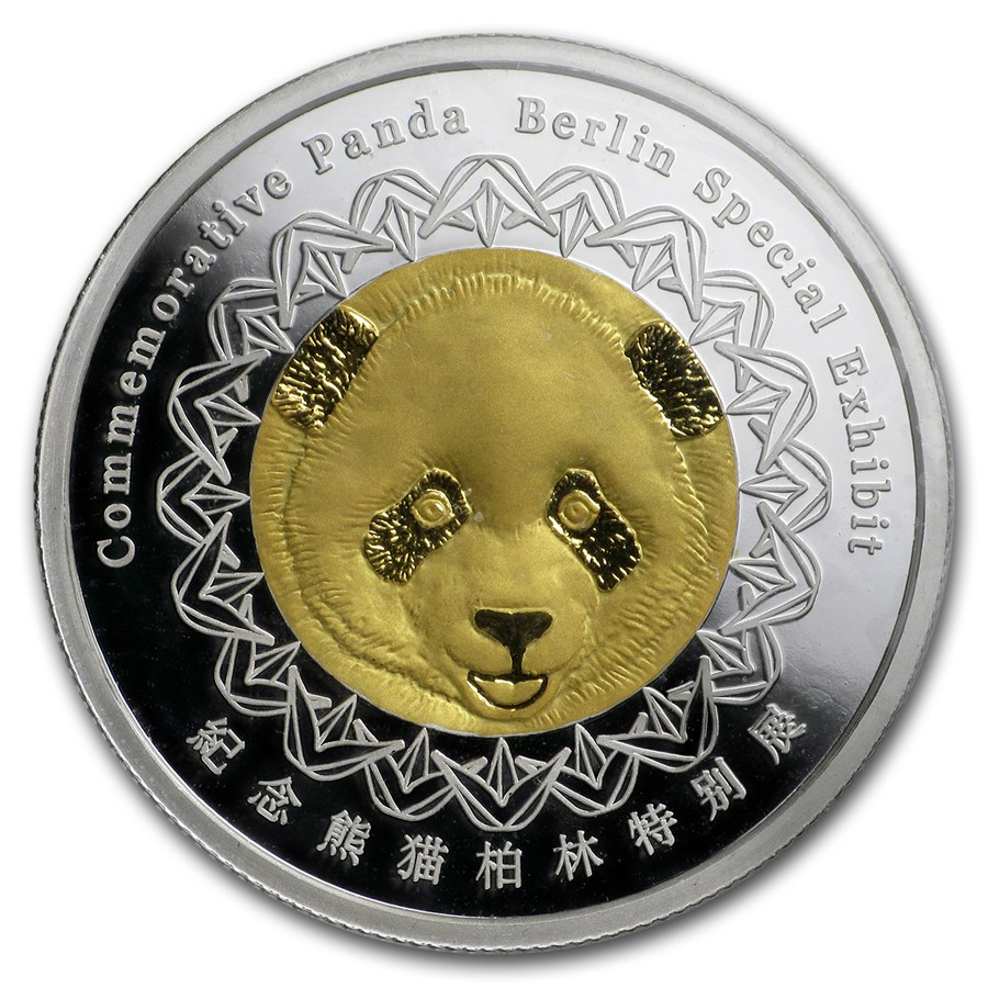 2018 China 8 gram Silver Panda Proof (Berlin World Money Fair)