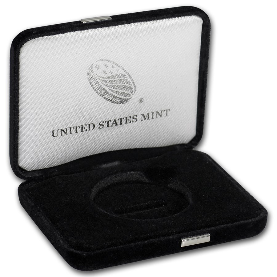 OGP Box & COA - U.S. Mint 2018 1 oz Platinum Eagle Proof
