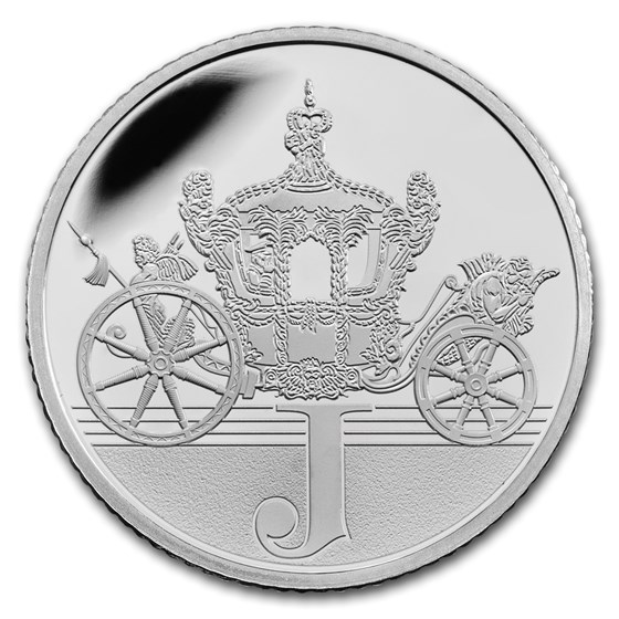 2018 Great Britain Silver 10p Great British Coin Hunt Proof (J)