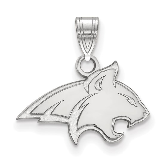 Sterling Silver Montana State University Small Pendant