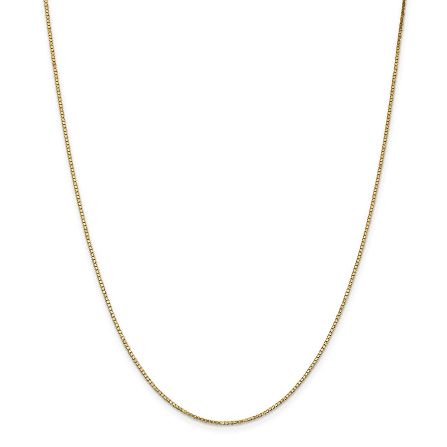 14k 1.1 mm Box Chain Necklace - 16 in.