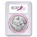 2018-P Breast Cancer Awareness $1 Silver MS-70 PCGS (FS)