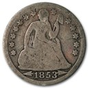 1853 Liberty Seated Dime w/Arrows VG