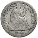 1857 Liberty Seated Dime Fine