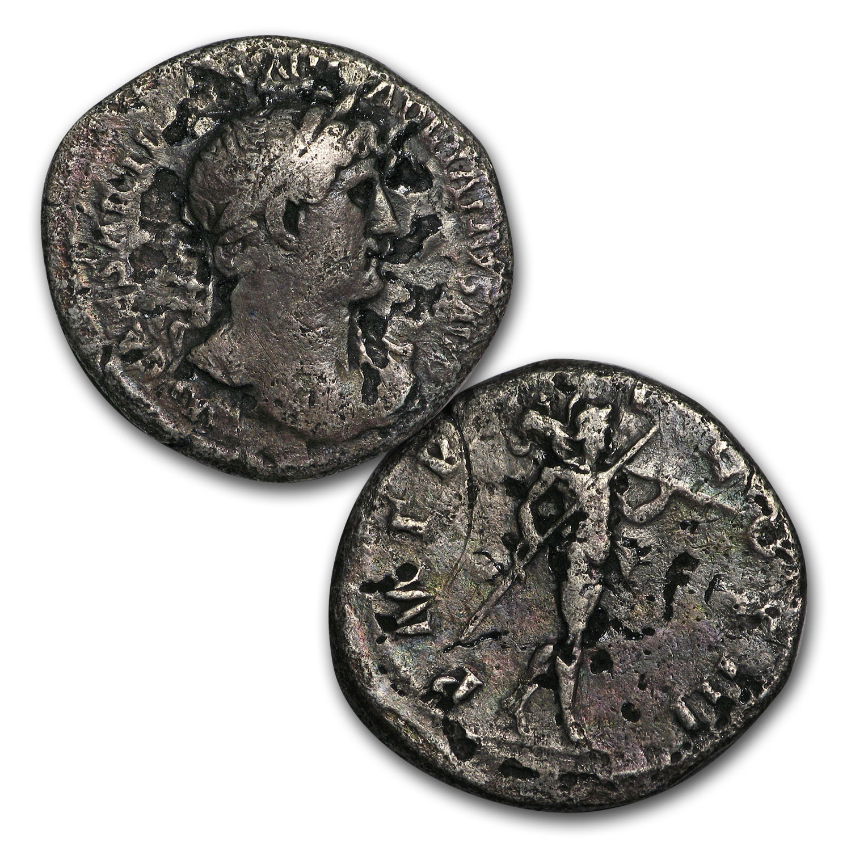 44 BC-300 AD Good-Fine Roman Silver Denarius Random Emperors SKU#169007