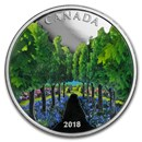 2018 Canada 1 oz Silver $20 Maple Tree Tunnel