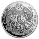 2019 Rwanda 1 oz Silver Lunar Year of the Pig Proof