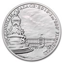 2019 GB 1 oz Silver Landmarks of Britain (Buckingham Palace)