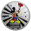 2019 1 oz Silver $2 Disney Carnival Collection: Mickey Mouse