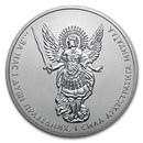 2019 Ukraine 1 oz Silver Archangel Michael BU