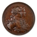 1763 Great Britain Medal Morro Castle MS-63 NGC (Brown)