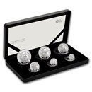 2019 Great Britain 6-Coin Silver Britannia Proof Set