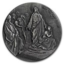 2019 2 oz Silver Coin - Biblical Series (Cast the First Stone)