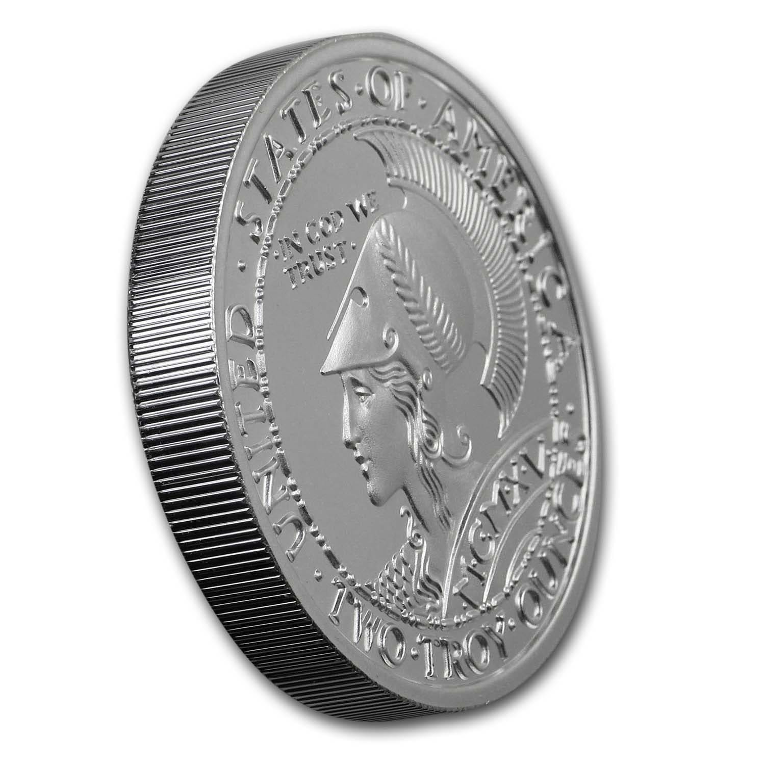 Panama-Pacific Exposition 2 oz Silver Round Airtite Capsule