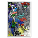 2019 Niue 5 gram Silver $1 Batman Villains: The Joker Foil Note