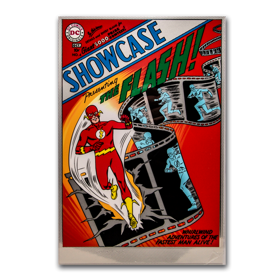 35 gram Silver DC Comics The Flash Showcase #4 Foil