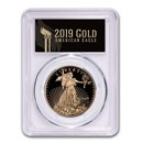 2019-W 1 oz Gold American Eagle PR-70 PCGS (FS, Black Label)