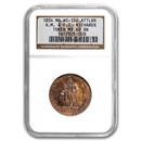 1834 H.M. Richards Jeweler Store Card HT-150 MS-62 NGC (BN)