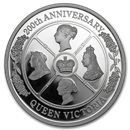 2019 Australia 1 oz Silver Queen Victoria 200th Anniversary Proof