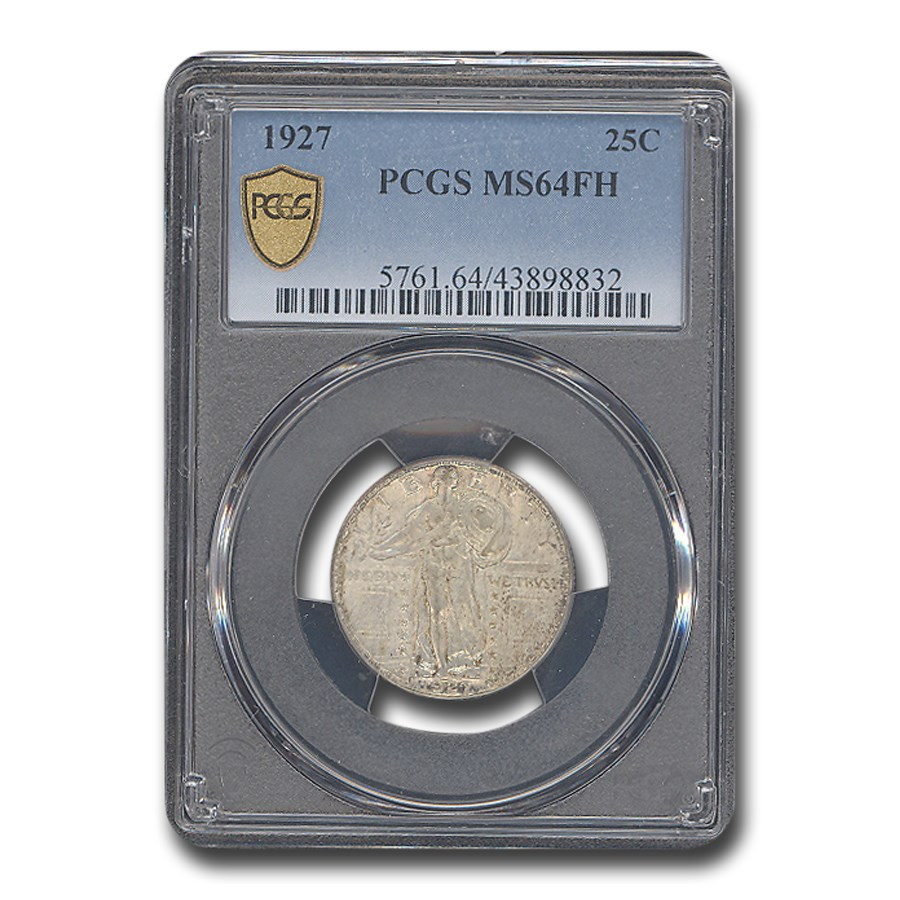 1927 Standing Liberty Quarter MS-64 PCGS (FH)