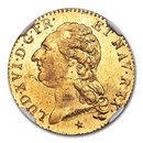 1786 France Gold Louis D'or MS-66 NGC