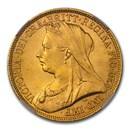 1893 Great Britain Gold 2 Pounds MS-65 NGC