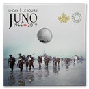 2019 Canada 1/4 oz Ag $3 75th Anniversary: D-Day at Juno Beach
