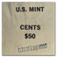 1993-D Lincoln Cent $50.00 Mint Sewn Bag (Sealed)