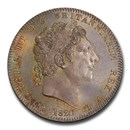 1820 Great Britain Silver Crown George III MS-66 PCGS