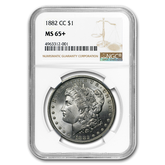 1882-CC Morgan Dollar MS-65+ NGC