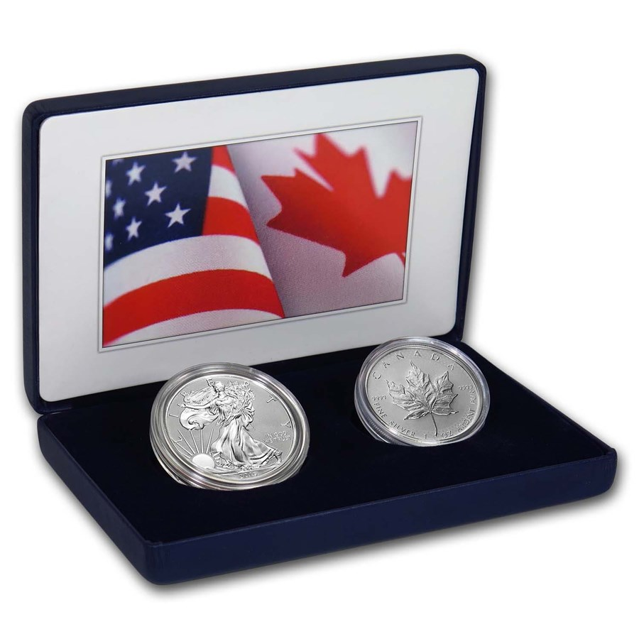 2019 U.S. Mint Pride of Two Nations Limited Edition 2-Coin Set