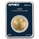 2020 1 oz Gold American Eagle (MintDirect® Single)